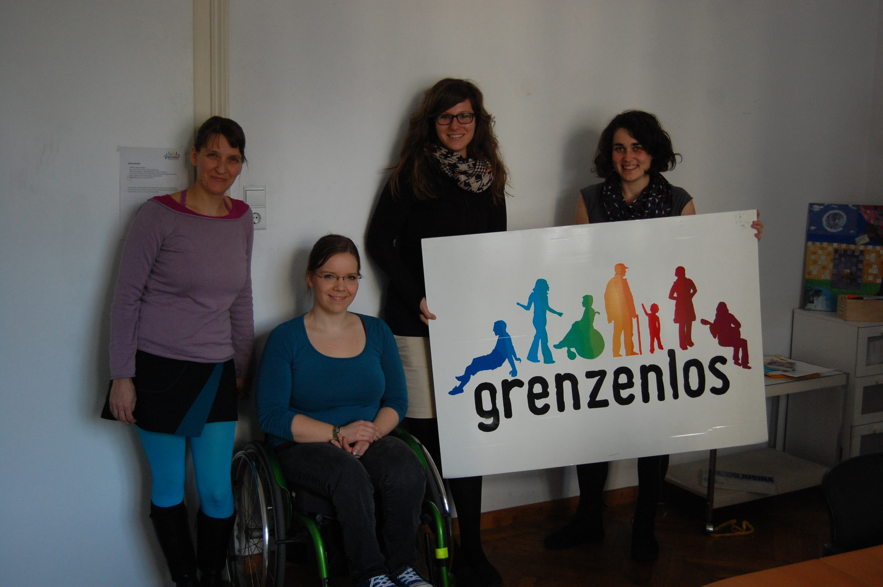 EVS Placement at Grenzenlos ONLY open for applicants with physical disabilities